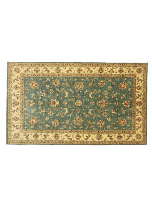 Teppich Chobi Türkis 200x300 cm Afghanistan - 100% Hochlandschurwolle