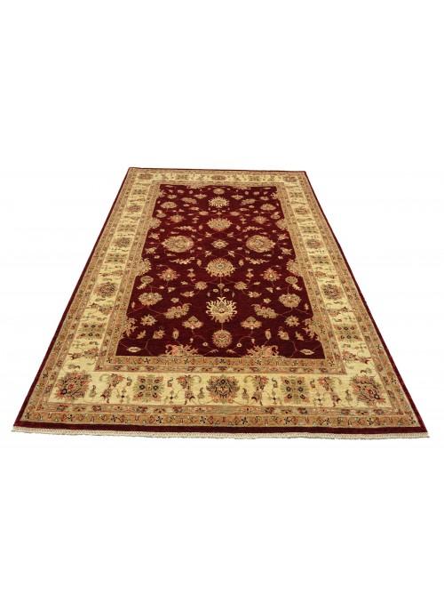 Teppich Chobi Rot 200x300 cm Afghanistan - 100% Hochlandschurwolle