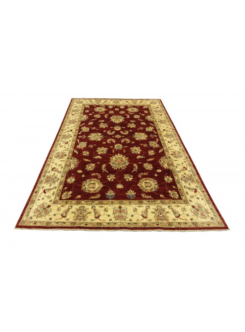 Teppich Chobi Rot 210x290 cm Afghanistan - 100% Hochlandschurwolle