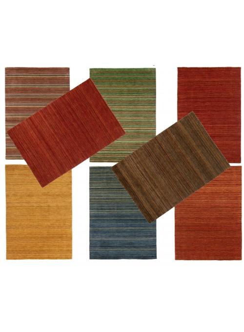 Teppich Handloom Mehrfarbig 170x240 cm Indien - 100% Schurwolle