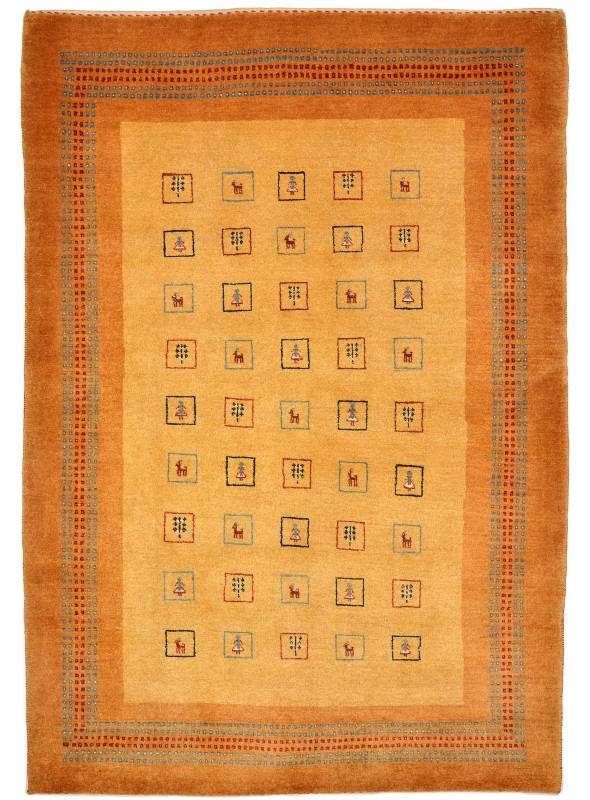 Hand made carpet Persian Gabbeh Loribaft 120x180cm 100% wool