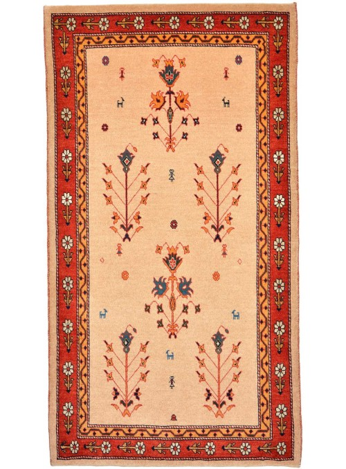 Hand made carpet Persian Gabbeh Loribaft 90x160cm 100% wool