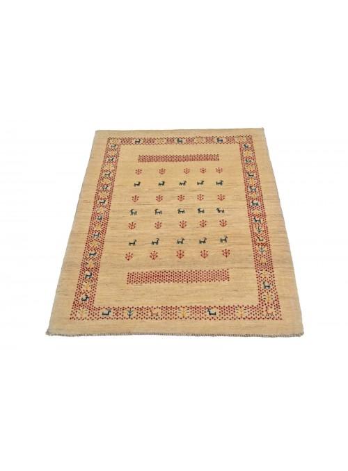 Ręcznie tkany dywan Loribaft Gabbeh Iran 100% wełna ok 85x110cm