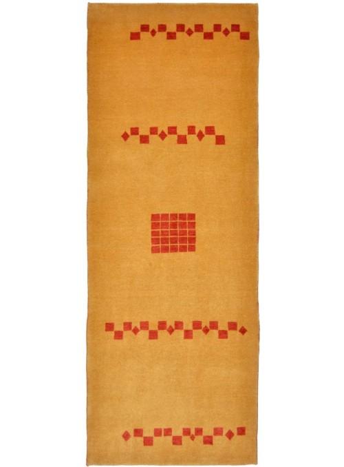 Ręcznie tkany dywan Loribaft Gabbeh Iran 100% wełna ok 90x250cm chodnik
