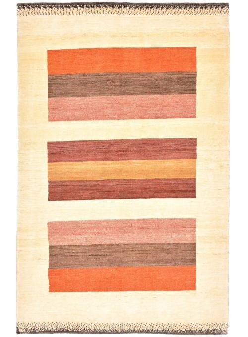 Ręcznie tkany dywan Loribaft Gabbeh Iran 100% wełna ok 130x200cm