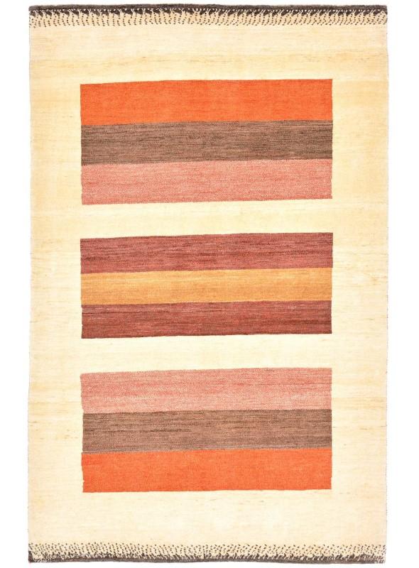 Hand made carpet Persian Gabbeh Loribaft 130x200cm 100% wool