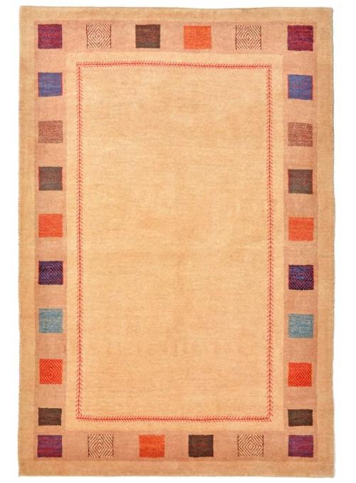 Ręcznie tkany dywan Loribaft Gabbeh Iran 100% wełna ok 100x150cm