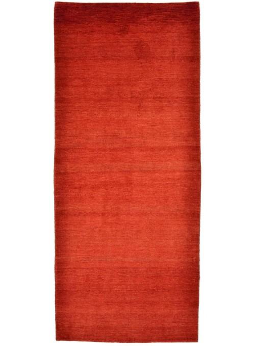 Ręcznie tkany dywan Loribaft Gabbeh Iran 100% wełna ok 90x200cm chodnik