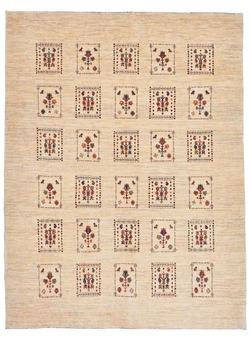 Ręcznie tkany dywan Loribaft Gabbeh Iran 100% wełna ok 160x210cm