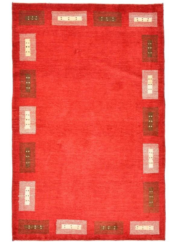 Hand made carpet Persian Gabbeh Loribaft 110x170cm 100% wool