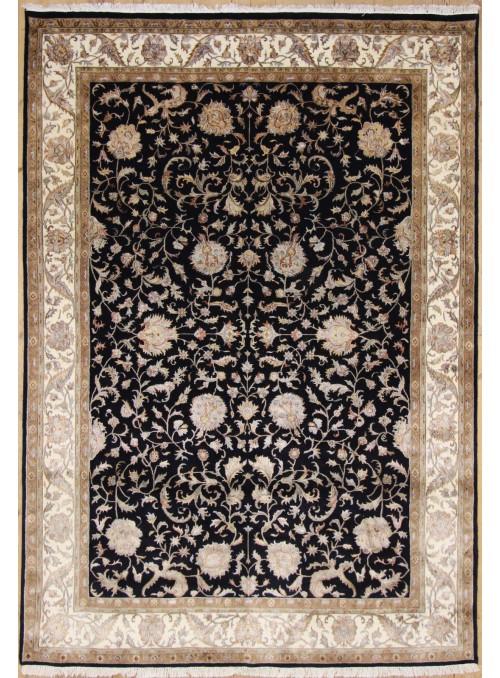 Luxus Orient Teppich Handgeknüpft Iran Tabriz 250x345cm Wolle mit Seide