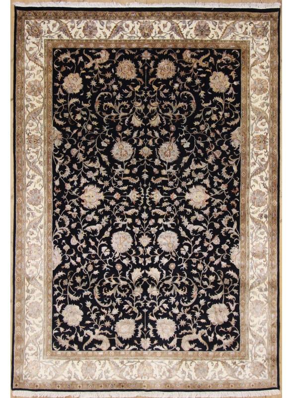 Luksusowy ręcznie tkany dywan Tabriz Iran wełna i jedwab 250x345cm