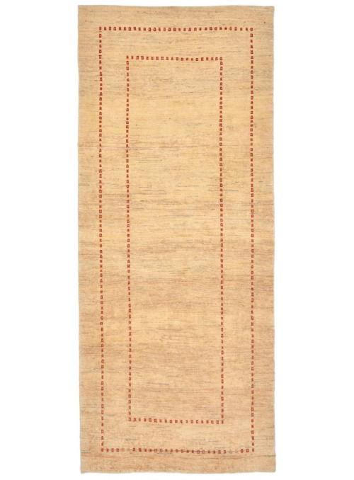 Hand made carpet Persian Gabbeh Loribaft runner 80x200cm 100% wool