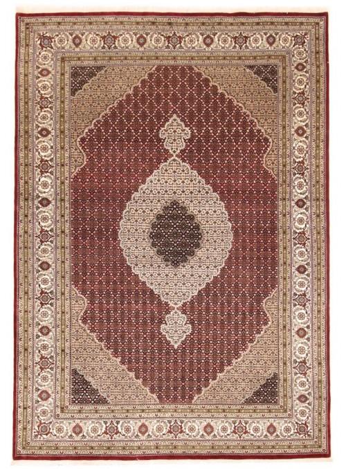 Hand made India carpet Tabriz Mahi 250x350cm wool/silk