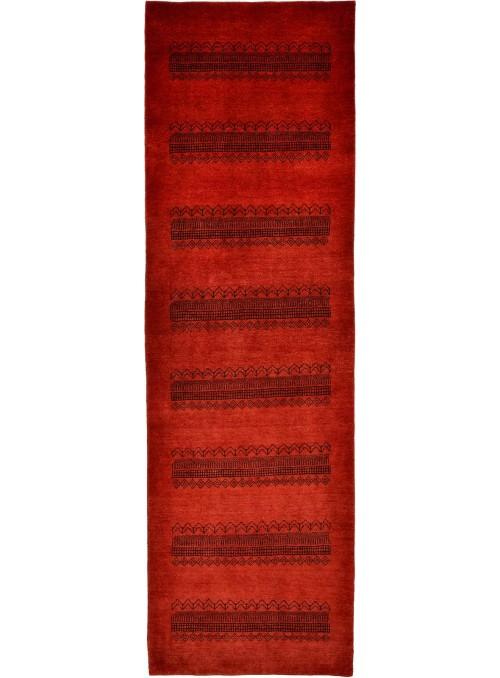 Ręcznie tkany dywan Loribaft Gabbeh Iran 100% wełna ok 80x280cm chodnik