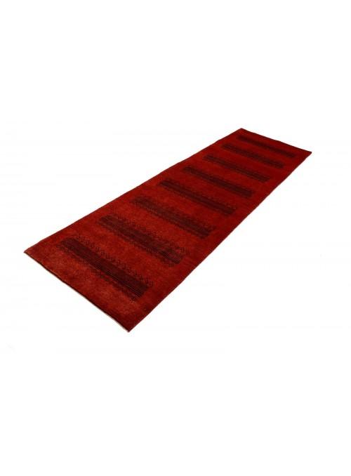 Orientteppich Handgeknüpft Iran Loribaft ca 80x280cm perser Gabbeh 100% Wolle Läufer