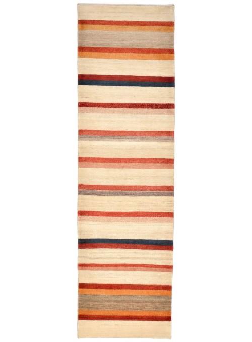 Hand made carpet Persian Gabbeh Loribaft runner 90x300cm 100% wool