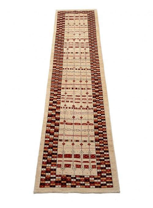 Orientteppich Handgeknüpft Iran Loribaft ca 90x400cm perser Gabbeh 100% Wolle Läufer