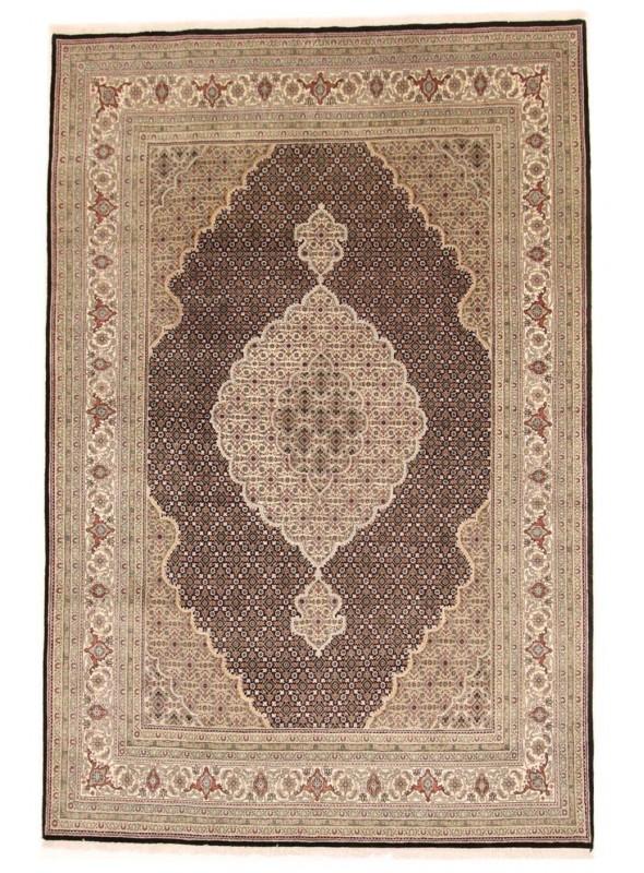 Hand made Iran carpet Tabriz Mahi 250x350cm wool/silk