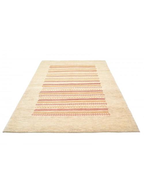 Hand-made Persian carpet Gabbeh Loribaft ca. 170x240cm 100% wool beige