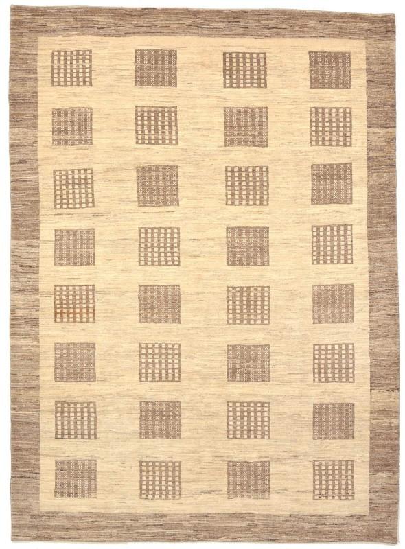 Perser Gabbeh Loribaft Galerie ca. 200x260 cm 100 % Wolle biege