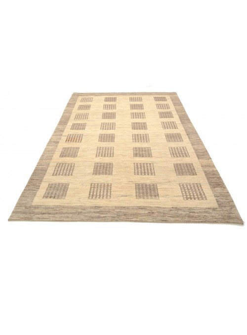 Hand-made Persian carpet Gabbeh Loribaft ca. 200x260cm 100% wool beige