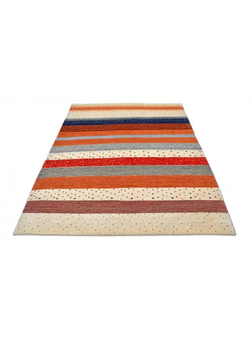 Hand-made Persian carpet Gabbeh Loribaft ca. 160x210cm 100% wool multi