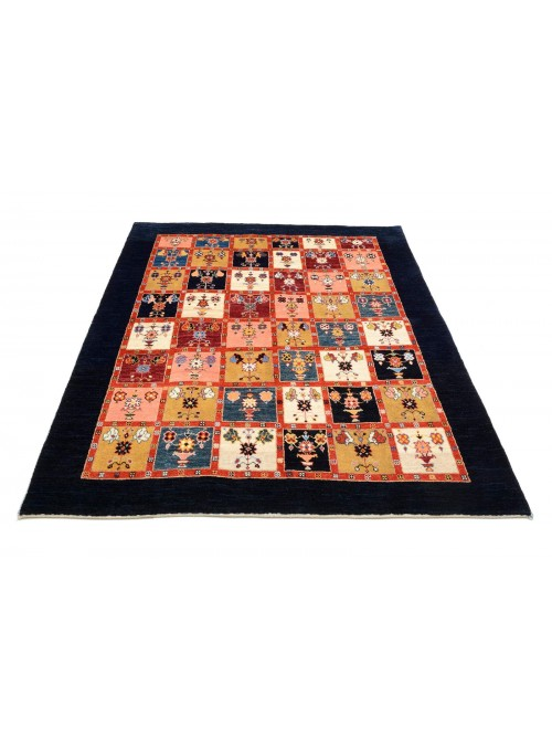 Hand-made Persian carpet Gabbeh Loribaft ca. 150x200cm 100% wool patchwork