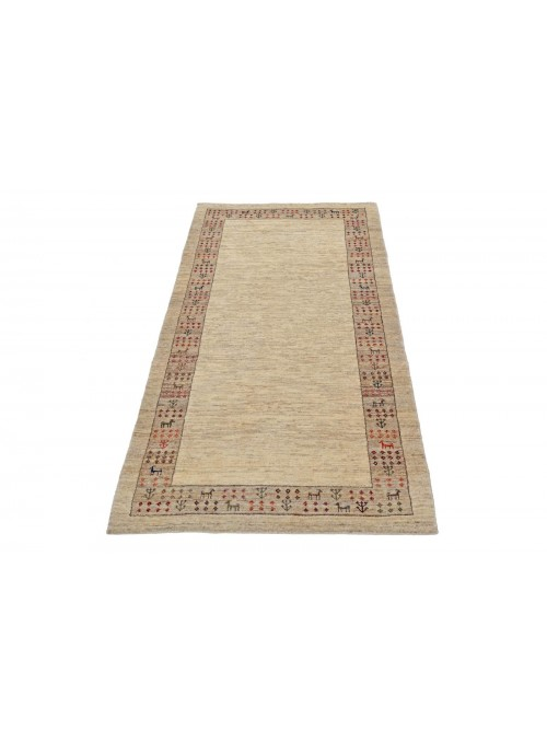 Hand-made Persian carpet Gabbeh Loribaft ca. 85x180cm 100% wool runner