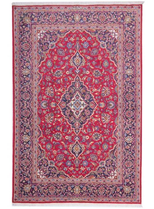 Ręcznie tkany dywan perski Keszan Iran 140x200cm wełna