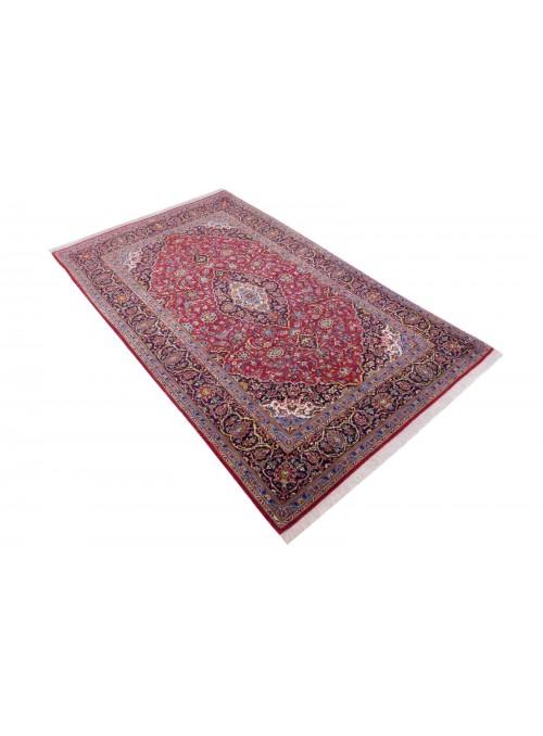 Ręcznie tkany dywan perski Keszan Iran 140x220cm wełna