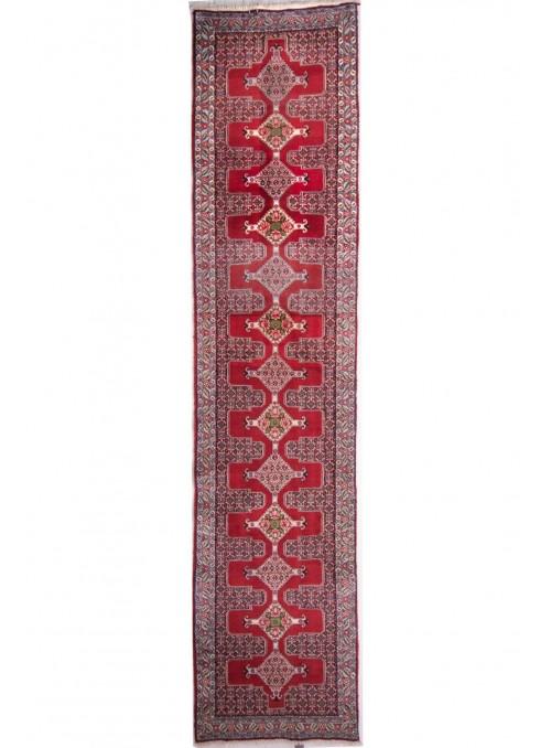 Ręcznie tkany dywan perski Senneh Iran 90x400cm wełna chodnik